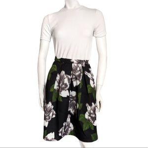 4/20$ Bedo floral print midi skirt